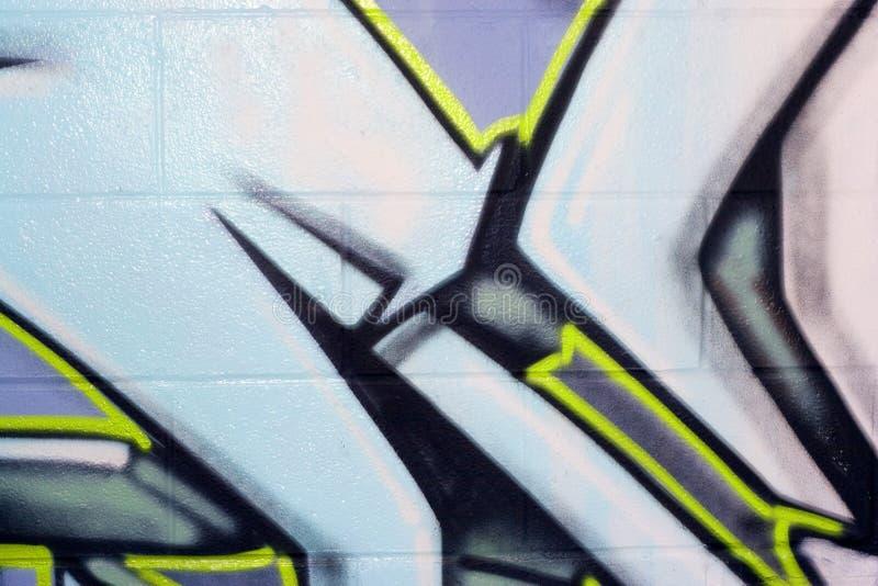 οδός γκράφιτι spraypaint στοκ εικόνα