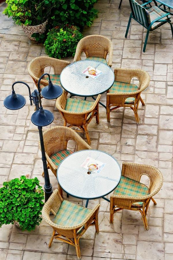 οδός καφέδων στοκ φωτογραφίες
