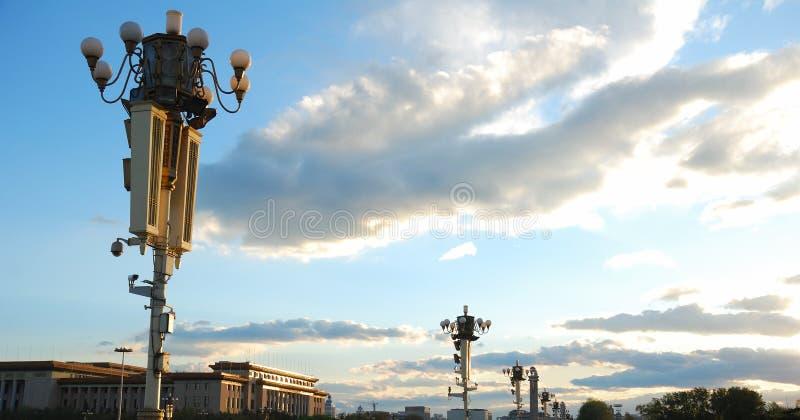 οδός λαμπτήρων του Πεκίνο στοκ φωτογραφίες με δικαίωμα ελεύθερης χρήσης