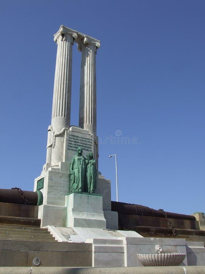 οδός μνημείων της Αβάνας malecon στοκ εικόνες με δικαίωμα ελεύθερης χρήσης