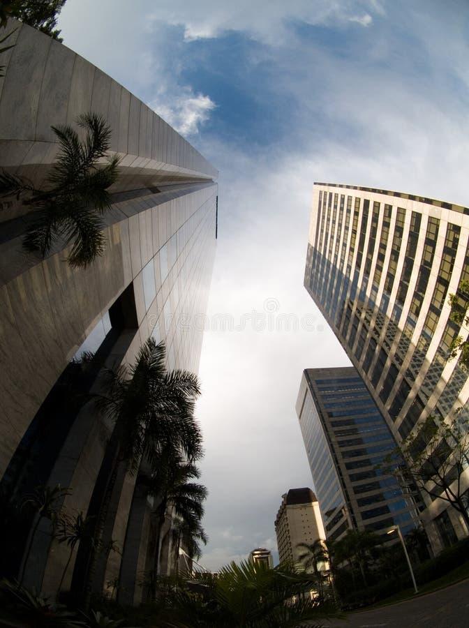 οδός Σάο του Paulo στοκ εικόνες με δικαίωμα ελεύθερης χρήσης