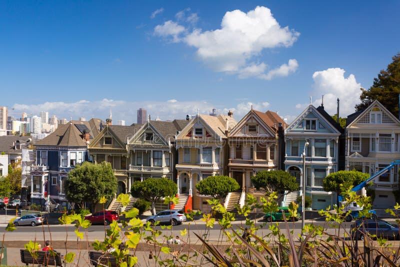 Οδός στο Σαν Φρανσίσκο, Καλιφόρνια, ΗΠΑ στοκ εικόνες με δικαίωμα ελεύθερης χρήσης