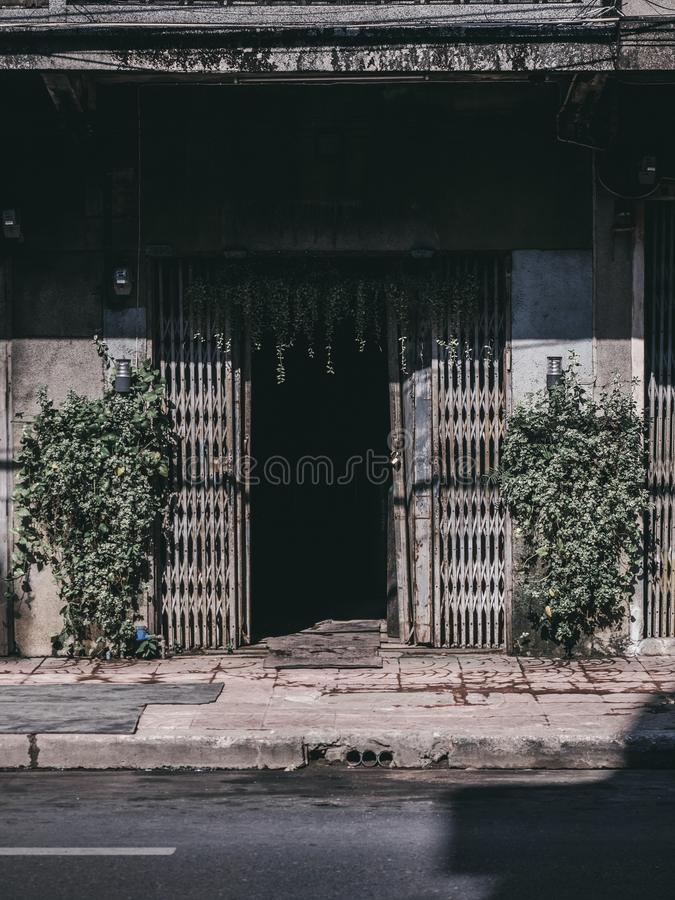 Οδός Ταϊλάνδη στη Μπανγκόκ στοκ φωτογραφίες