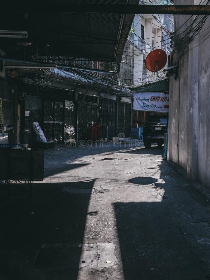 Οδός Ταϊλάνδη στη Μπανγκόκ στοκ εικόνες με δικαίωμα ελεύθερης χρήσης