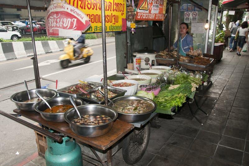 οδός Ταϊλανδός τροφίμων στοκ φωτογραφίες με δικαίωμα ελεύθερης χρήσης