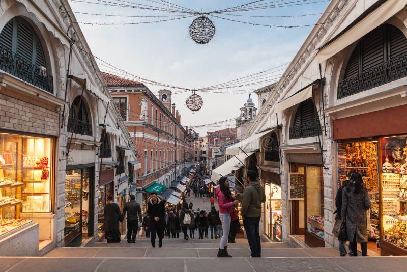 Οδός της Βενετίας στοκ εικόνα με δικαίωμα ελεύθερης χρήσης