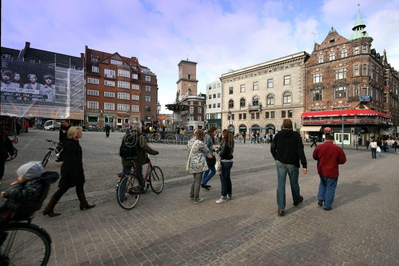 οδός της Κοπεγχάγης στοκ εικόνες με δικαίωμα ελεύθερης χρήσης