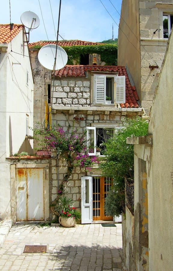 οδός της Κροατίας dubrovnik στοκ εικόνες με δικαίωμα ελεύθερης χρήσης
