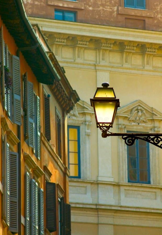 Οδός της Ρώμης στοκ φωτογραφία