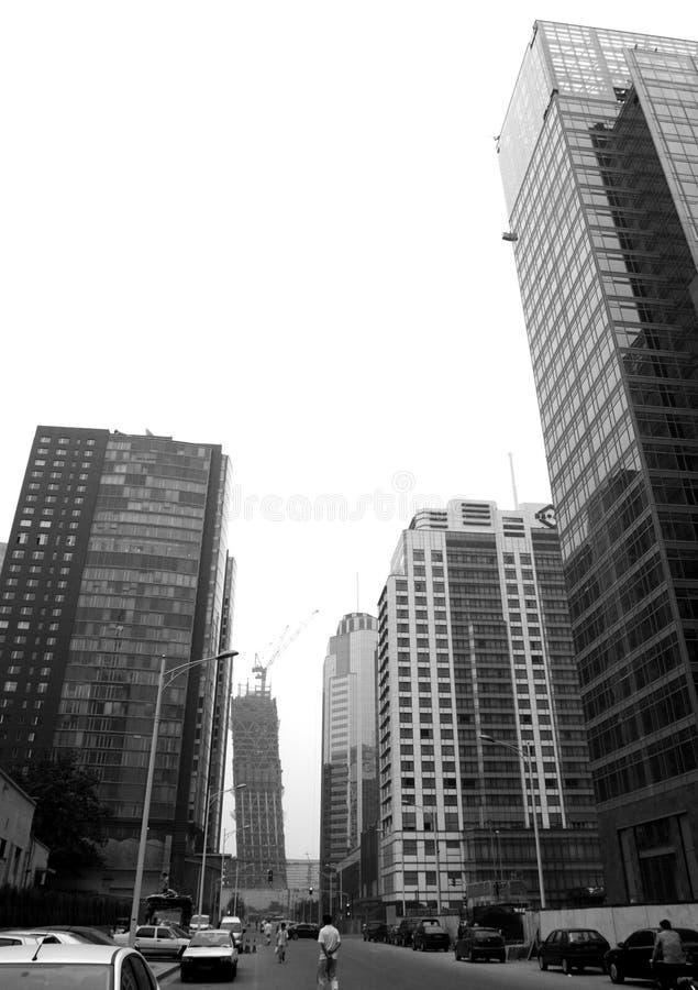 οδός του Πεκίνου στοκ εικόνες