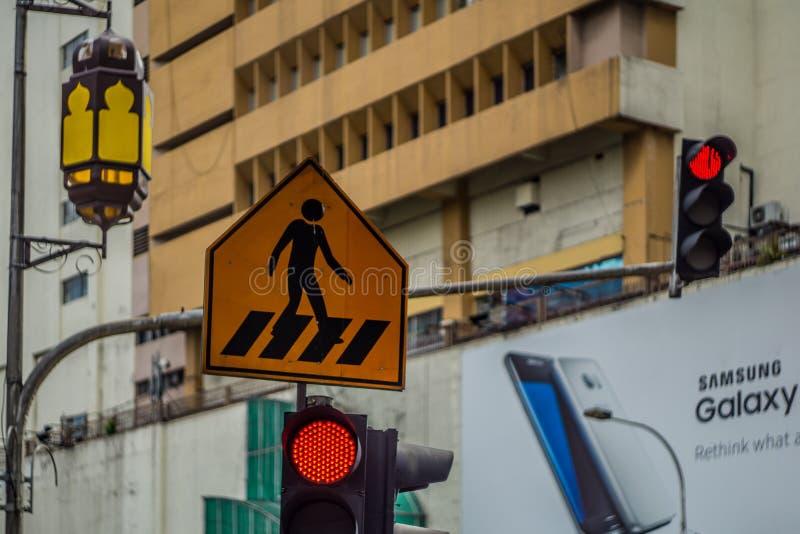 Οδός Chowkit, Κουάλα Λουμπούρ, Μαλαισία στοκ φωτογραφία με δικαίωμα ελεύθερης χρήσης