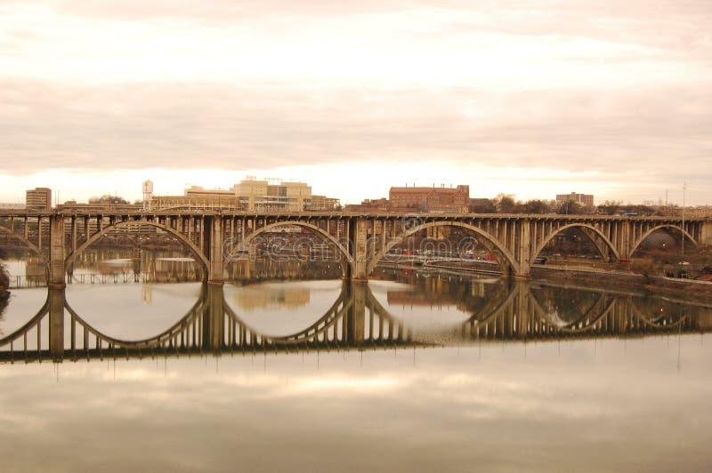 οδός henley γεφυρών knoxville στοκ εικόνες με δικαίωμα ελεύθερης χρήσης