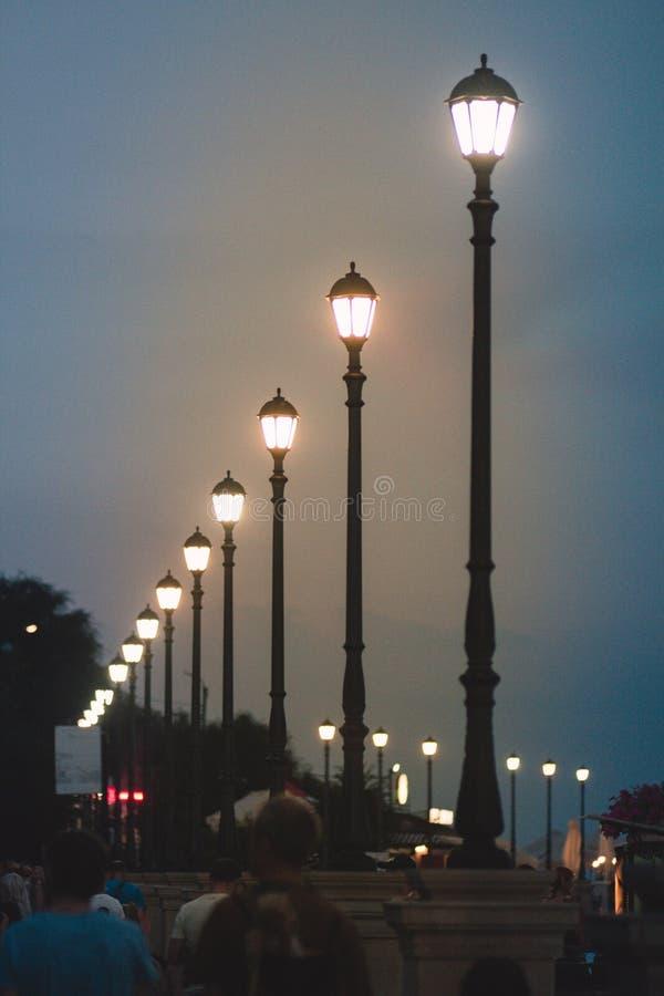 Οδός lites στοκ φωτογραφίες με δικαίωμα ελεύθερης χρήσης