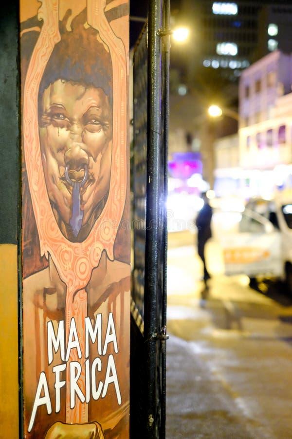 Οδός photograhpy στο Καίηπ Τάουν, Νότια Αφρική στοκ εικόνες