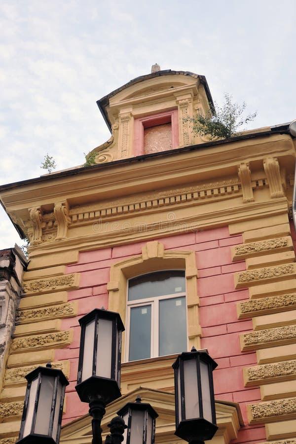 Οδός Pokrovskaya Bolshaya σε Nizhny Novgorod, Ρωσία στοκ φωτογραφίες με δικαίωμα ελεύθερης χρήσης