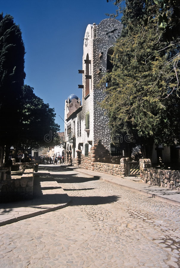 οδός salta humahuaca της Αργεντινής στοκ εικόνα με δικαίωμα ελεύθερης χρήσης