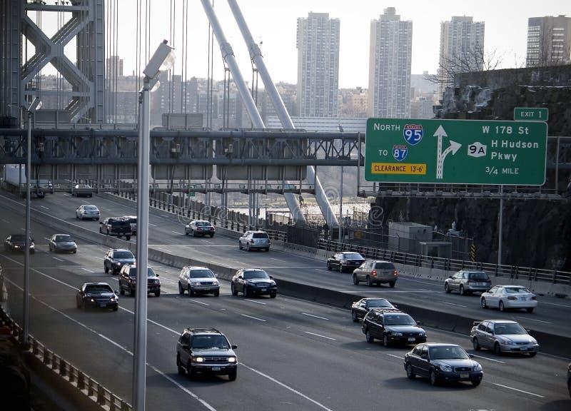 οδόστρωμα γεφυρών στοκ φωτογραφία