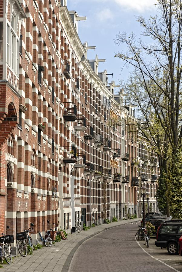 Οδόστρωμα στο Άμστερνταμ, Ολλανδία στοκ φωτογραφία με δικαίωμα ελεύθερης χρήσης