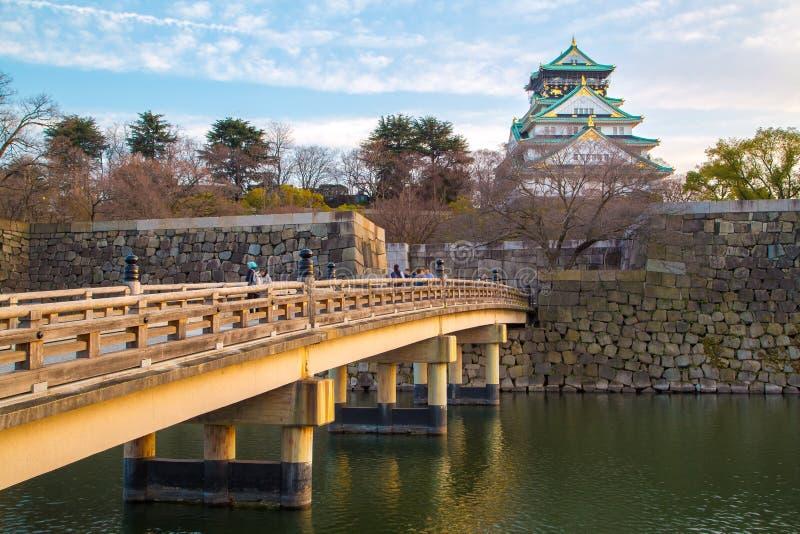 Οζάκα Castle στην Οζάκα στοκ φωτογραφίες