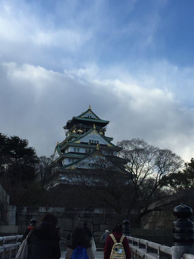 Οζάκα Castle στοκ φωτογραφία με δικαίωμα ελεύθερης χρήσης