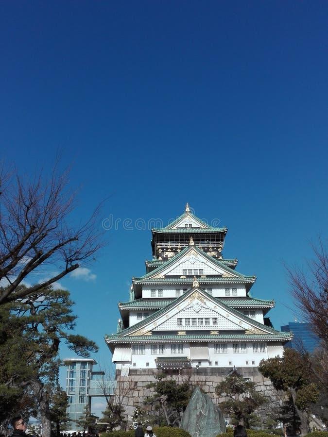 Οζάκα Castle στοκ εικόνες