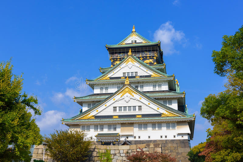 Οζάκα Castle στοκ φωτογραφία