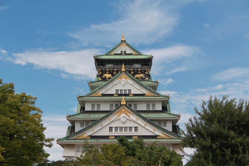 Οζάκα Castle στοκ εικόνα με δικαίωμα ελεύθερης χρήσης