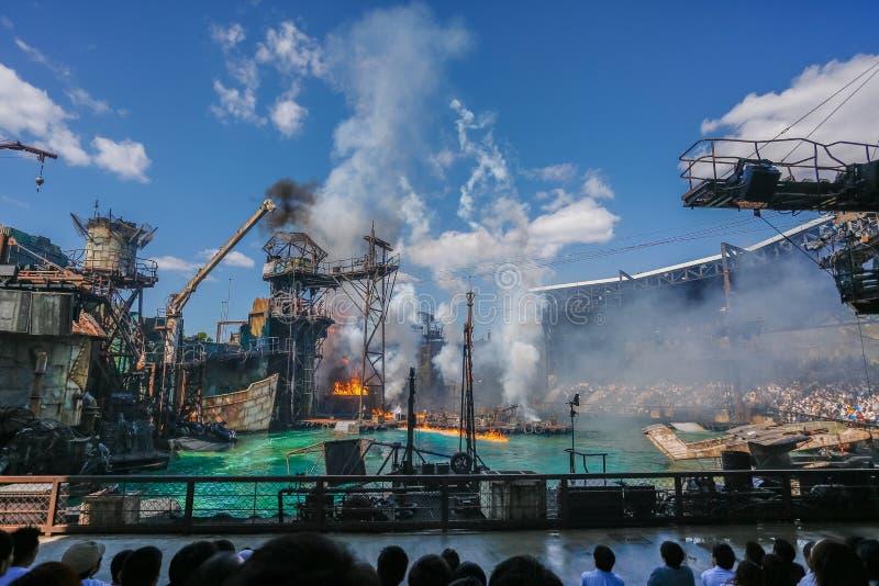 ΟΖΑΚΑ, ΙΑΠΩΝΙΑ - 2 Ιουνίου 2016 Ταξίδι στην καθολική Ιαπωνία στοκ εικόνες