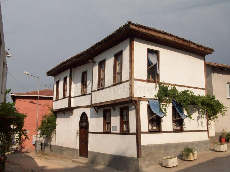Οθωμανικό σπίτι ύφους Antic στοκ φωτογραφίες με δικαίωμα ελεύθερης χρήσης