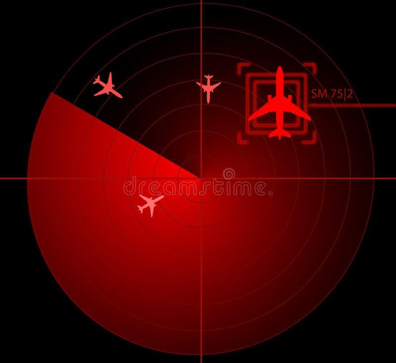 Download οθόνη ραντάρ απεικόνιση αποθεμάτων. εικονογραφία από ναυτικό - 17054211