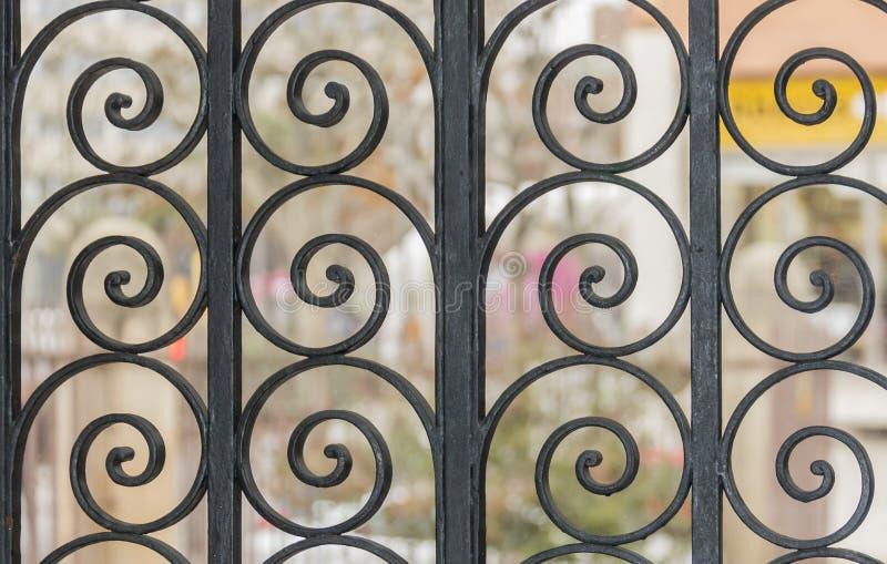 Οθόνη σφυρηλατημένων κομματιών στοκ φωτογραφία με δικαίωμα ελεύθερης χρήσης