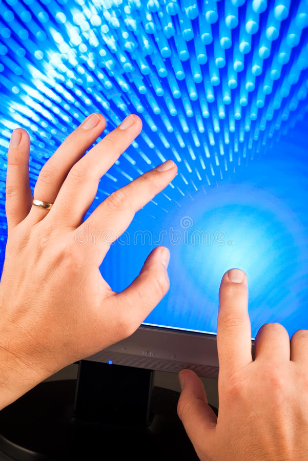 οθόνη χεριών σχετικά με στοκ φωτογραφίες με δικαίωμα ελεύθερης χρήσης