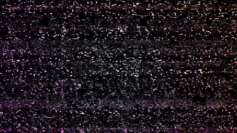 Οθόνη TV δυσλειτουργίας ελεύθερη απεικόνιση δικαιώματος