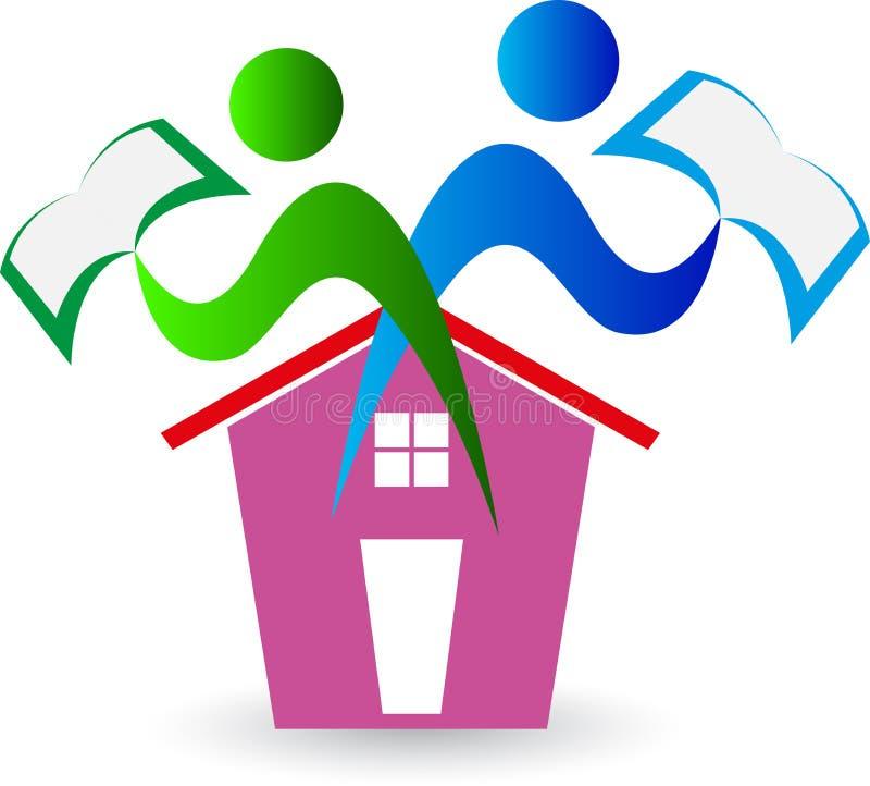 'Οικία' για την εκπαίδευση διανυσματική απεικόνιση