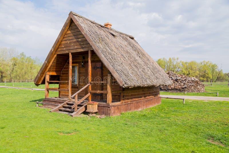 Οικία χωριών της Ουκρανίας στοκ φωτογραφία
