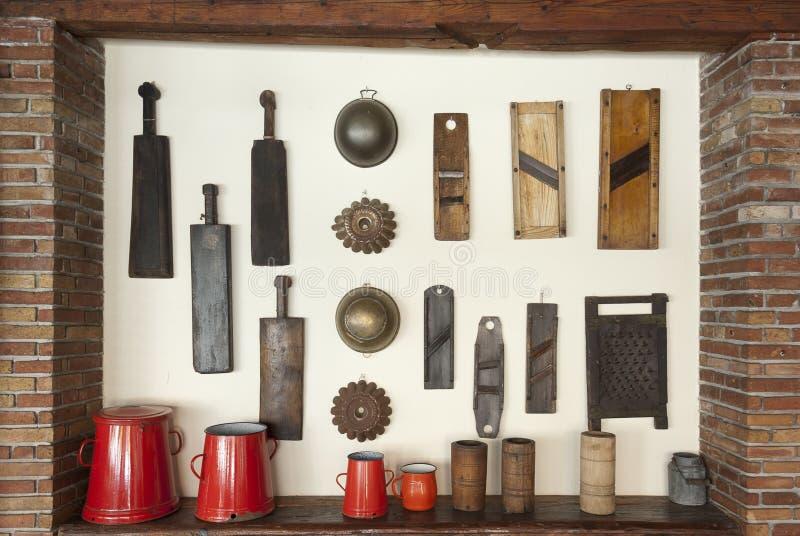 οικιακά αντικείμενα παλ&al στοκ φωτογραφίες