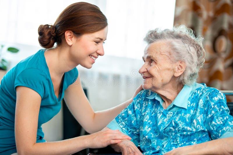 Οικιακή φροντίδα στοκ φωτογραφία