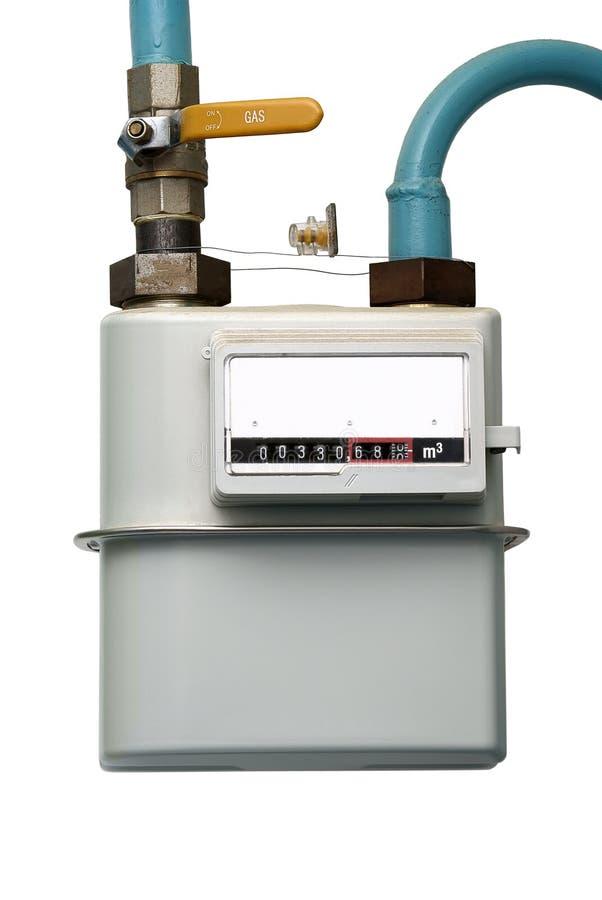 οικιακό μέτρο αερίου στοκ φωτογραφίες