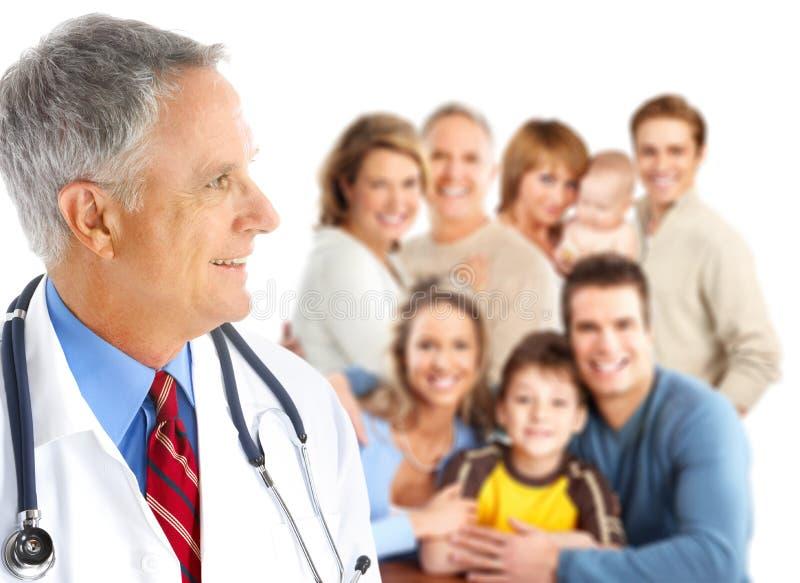 οικογένεια γιατρών στοκ εικόνες με δικαίωμα ελεύθερης χρήσης