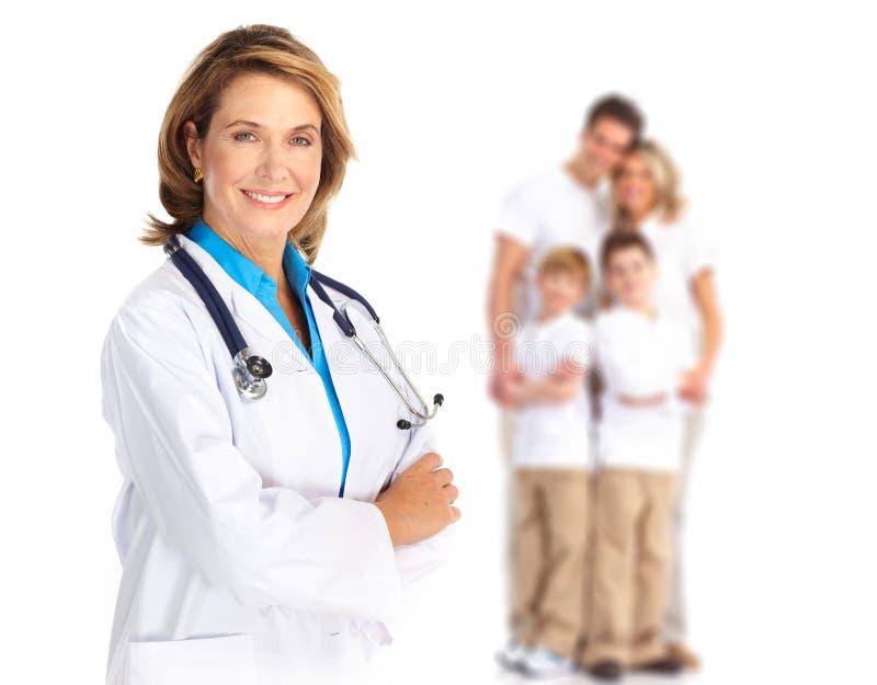 οικογένεια γιατρών στοκ φωτογραφίες