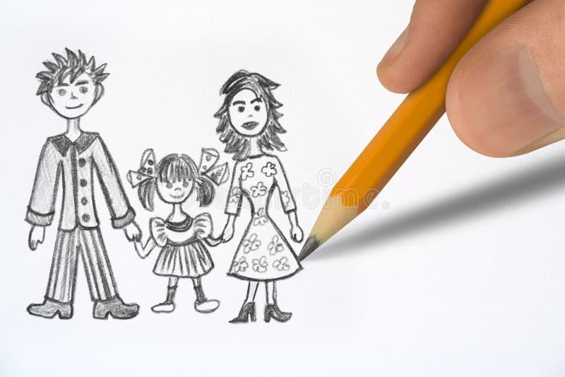 Download οικογένεια ευτυχής στοκ εικόνες. εικόνα από babylonia - 1532410