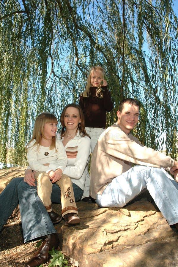 Download οικογένεια ευτυχής στοκ εικόνα. εικόνα από όμορφος, καυκάσιος - 1539335