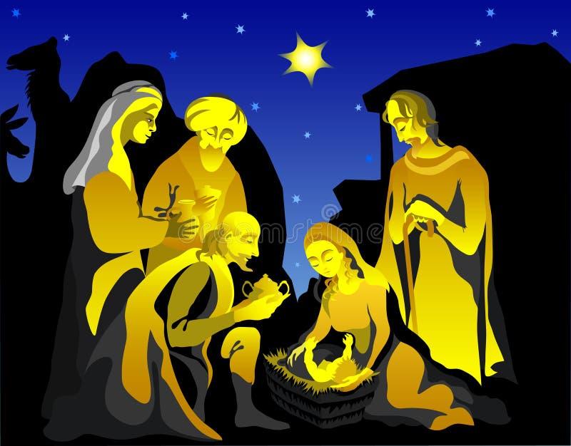 οικογένεια ιερή απεικόνιση αποθεμάτων
