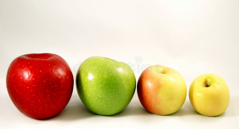 οικογένεια μήλων στοκ φωτογραφία
