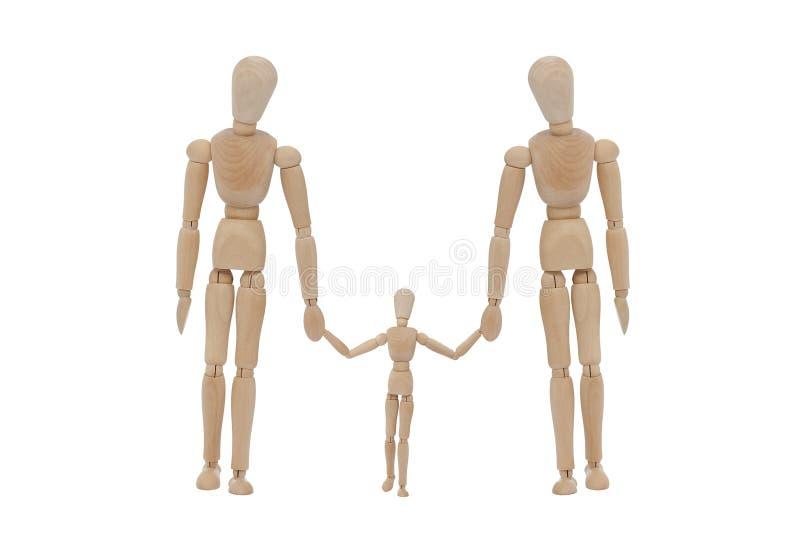 οικογενειάρχης ξύλινο&sigmaf στοκ εικόνες