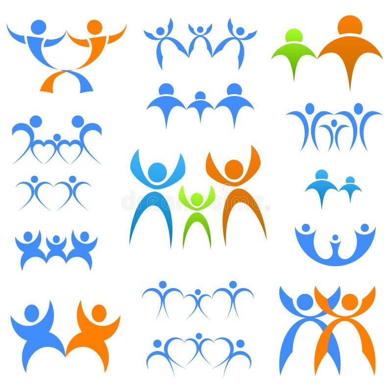 οικογενειακά σύμβολα ελεύθερη απεικόνιση δικαιώματος