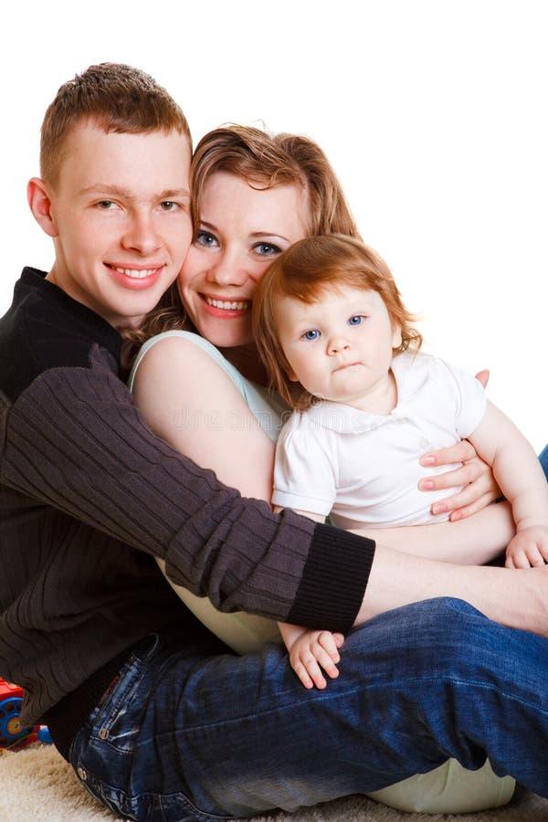 οικογενειακές νεολαί&e στοκ φωτογραφία με δικαίωμα ελεύθερης χρήσης