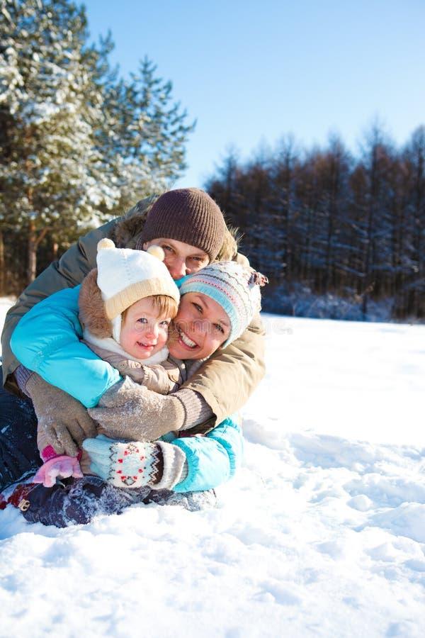 οικογενειακή αγάπη στοκ φωτογραφία