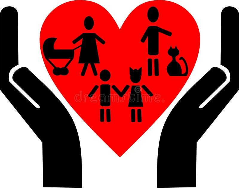 οικογενειακή αξία ελεύθερη απεικόνιση δικαιώματος
