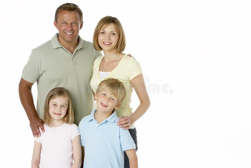 Οικογενειακή ομάδα ευτυχής από κοινού στοκ φωτογραφίες με δικαίωμα ελεύθερης χρήσης
